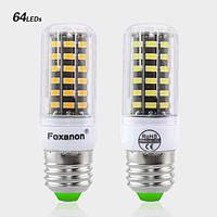 Светодиодная лампа LED E27 smd 5733, Foxacon 64 диода 5 Ватт