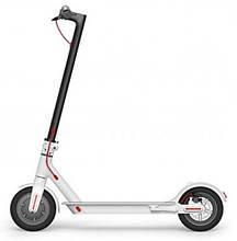 Электросамокат Белый Xiaomi  Electric Scooter скорость 25 км/ч