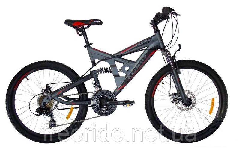 Подростковый Велосипед Azimut Shock 24 D