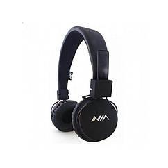 Беспроводные Bluetooth стерео наушники NIA X2 Black