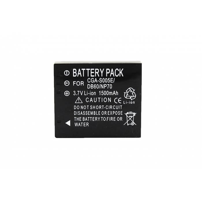 Батарея Panasonic CGA-S005 NP-70 Lumix FX01