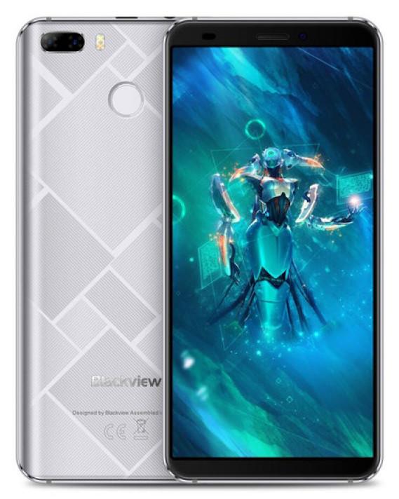 Смартфон Blackview S6 2/16Gb Silver, 8+0.3/2Мп, 5.7 IPS, 4180мАч, 2sim, MT6737, 4 ядра, 4G(LTE), GPS