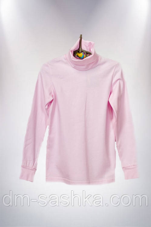 Водолазка подростковая розовая