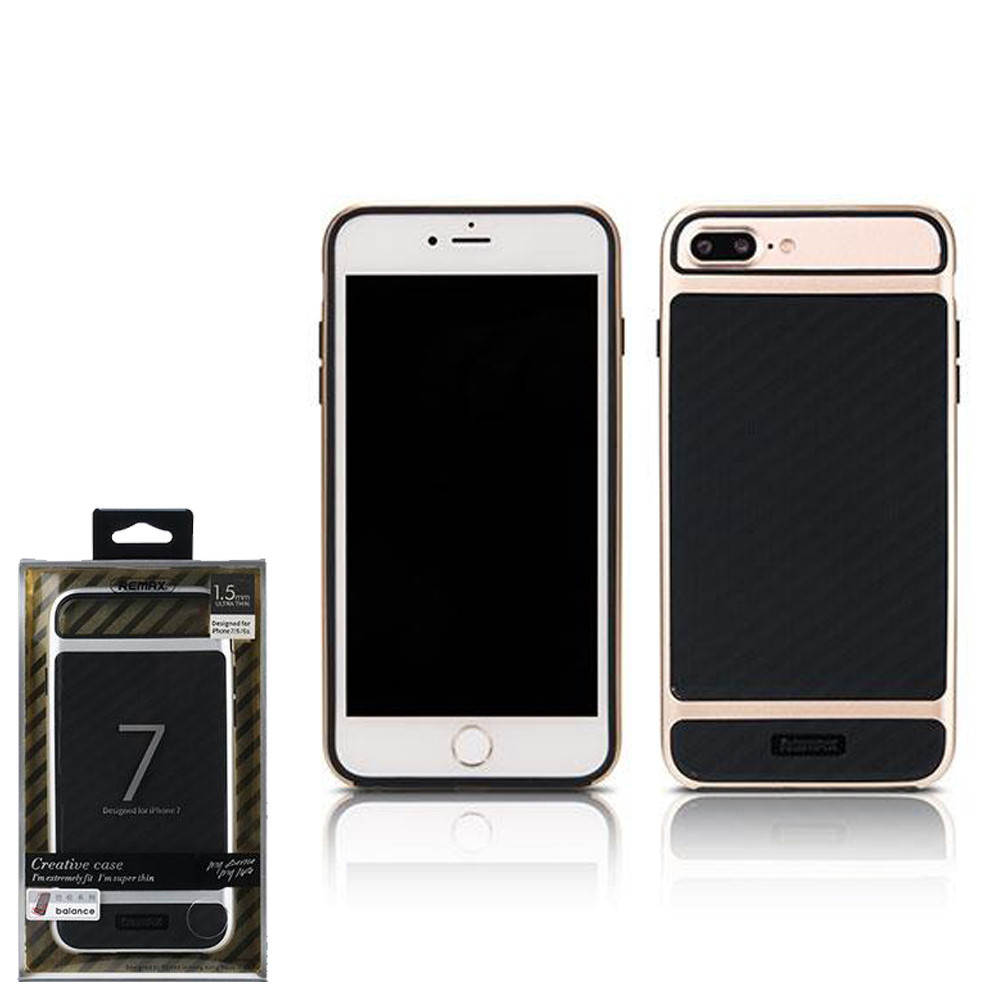 Чехол Remax Balance iPhone 7Plus/8Plus Gold