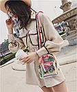 Прозрачный мини рюкзак сумка c  голографическим эффектом., фото 5