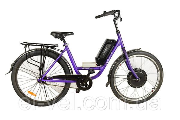 Электровелосипед АИСТ TRACKER26F XF39 48В/500Вт LED900S литиевая батарея 10,4Ач