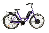 Электровелосипед АИСТ TRACKER26F XF39 48В/500Вт LED900S литиевая батарея 10,4Ач, фото 1