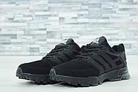 Мужские кроссовки Adidas Marathon черные 61044