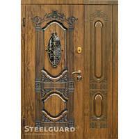 Двери Steelguard Sangria big glass