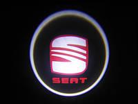 Подсветка логотипа авто на двери Seat