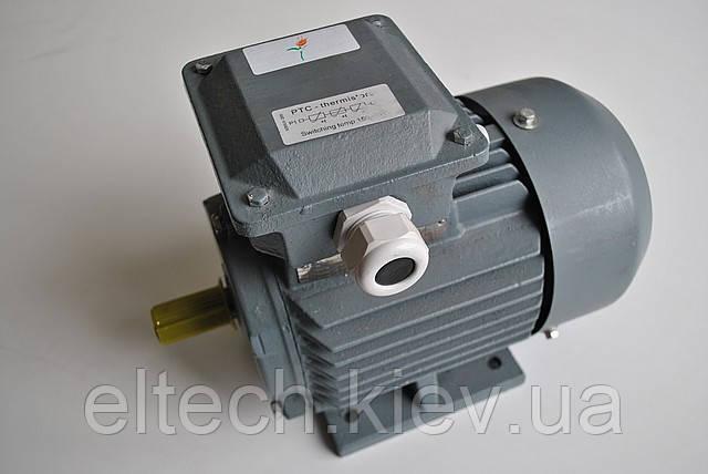 Электродвигатель асинхронный Lammers 13AA-132S-2-В5-5,5кВт, фланец, 3000 об/мин