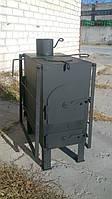Печь дровяная с варочной поверхностью и сушкой