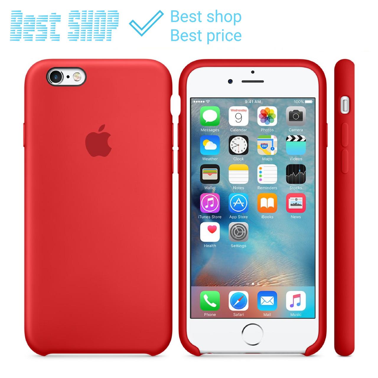 30 цветов Силиконовый чехол Apple Silicone Case для iPhone 6/6s