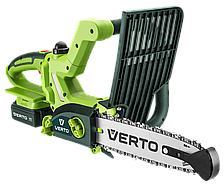 Аккумуляторная цепная пила Verto 52G585 (1,3 А/ч, 18 В)