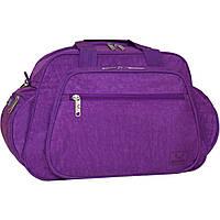 Украина Дорожная сумка Bagland Mr.Dark 23 л. Фиолетовый (0025570)