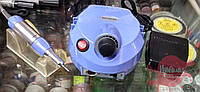 Синий фрезер для маникюра Nail Drill DM-202, 30 000 об/мин, 35 Вт