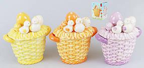 Декоративная корзина для яиц 16см, 3 вида 23-E242