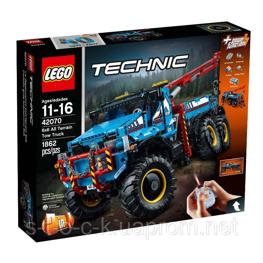 LEGO 42070 Техник Аварийный внедорожник 6х7. Для детей от 11-16 лет