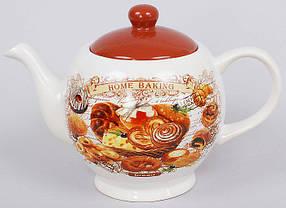 Чайник керамический 1л Хлеб QF488-BR