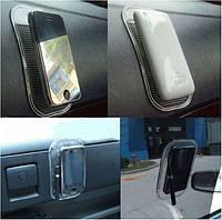 Коврик для телефона на торпеду автомобиля - антисользящий! Закажи удобный аксессуар для своего автомобиля!