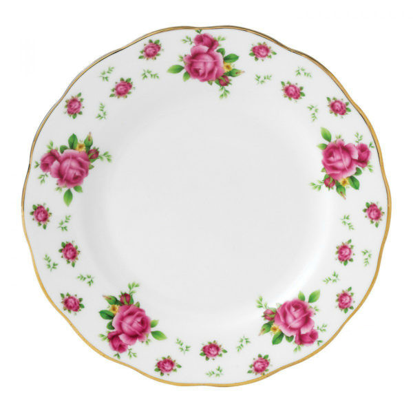 Тарелка Royal Albert New Country Roses White 16 см NCRWTW25810