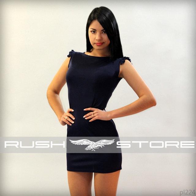 bf612ab9caa3f4f Летнее мини-платье с рюшами, цена 130 грн., купить в Николаеве — Prom.ua  (ID#720978588)