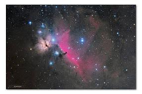 Высококачественный фотопринт Туманность Конская Голова STAR05