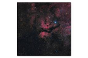 Высококачественный фотопринт Туманность Гамма Лебедя STAR06