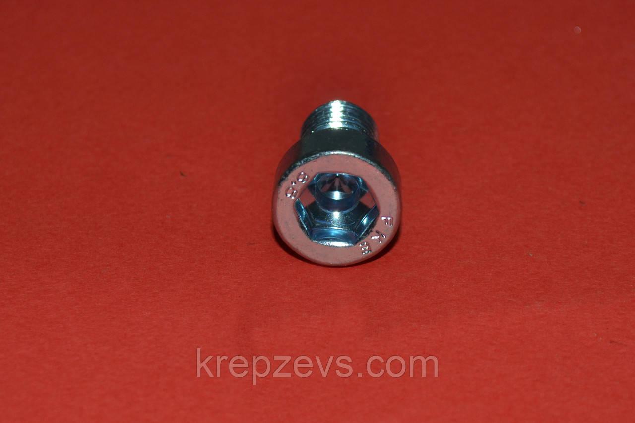 Винты DIN 6912 М4 с цилиндрической низкой головкой под шестигранный ключ
