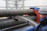 Вальцовка листового металла, профильных труб
