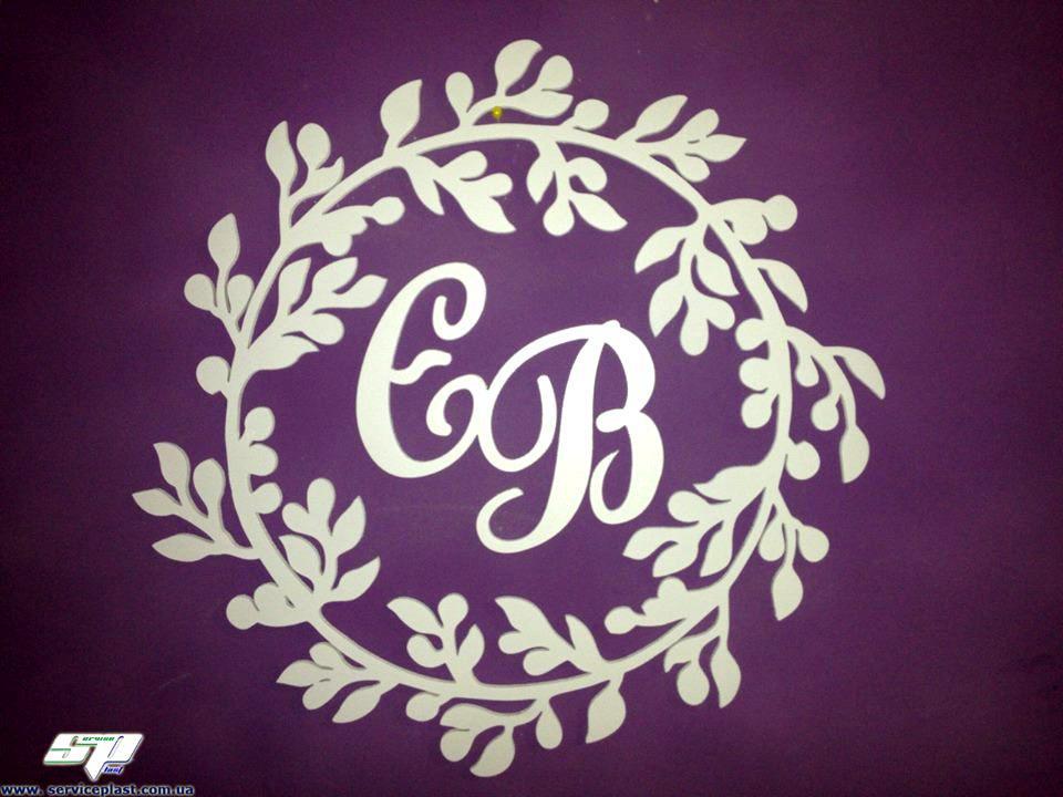 Свадебный герб, рамка