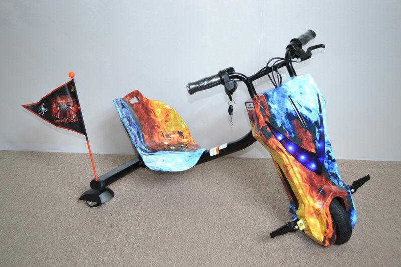 Електроскутер огнень і лід для райдерів Дрифт-карт Windtech Drift Cart 8