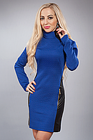 Платье женское модель №451-3,р.44,46 электрик