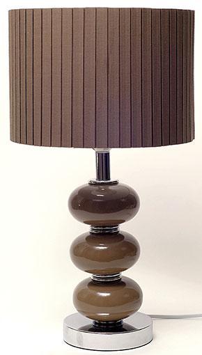Лампа с абажуром 31.3см 242-112