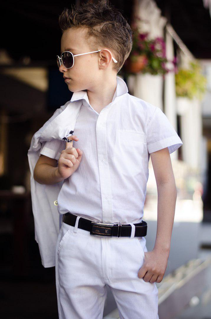 Дитячий костюм трійка з сорочкою