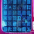 Набір для Стемпинга з Пластиною Великий на 42 Рисунка, Stamping Nail art, фото 3