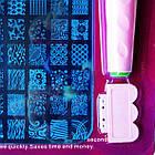 Набір для Стемпинга з Пластиною Великий на 42 Рисунка, Stamping Nail art, фото 4