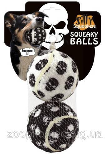 Игрушка для собак VIP ТЕННИС МЯЧ ЧЕРЕП (Tennis Balls-Skull)