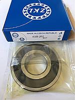 Подшипник ZKL 6306 2RS (30x72x19) однорядный, фото 1