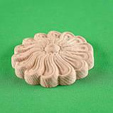 Розетки круглые декоративные для мебели. Код Р14, фото 4