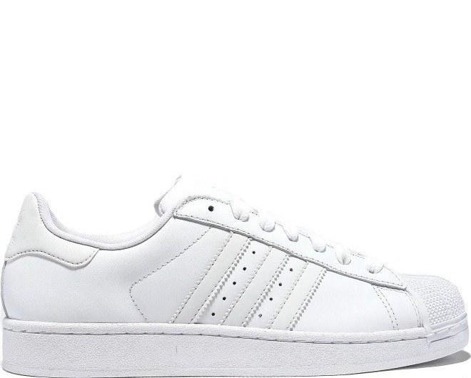Кроссовки в стиле Adidas Superstar II All White