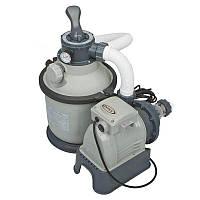 Песочный фильтр насос Intex 26644, 4 500 л\ч, 12 кг, New 2019