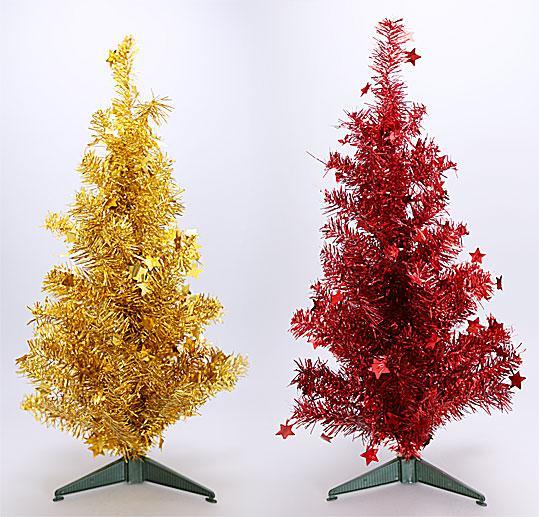 Декоративная елка на подставке, 60см, 2 вида 183-T31