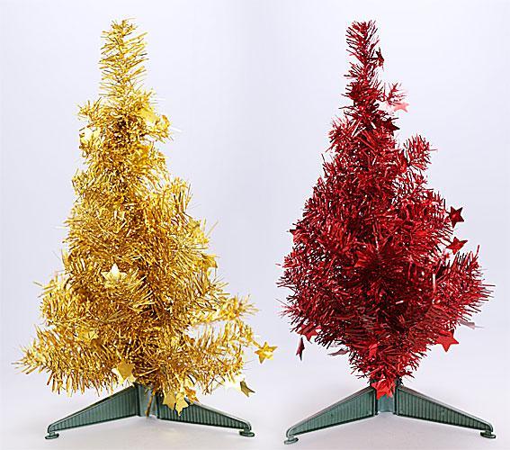 Декоративная елка на подставке, 40.5см, 2 вида 183-T27