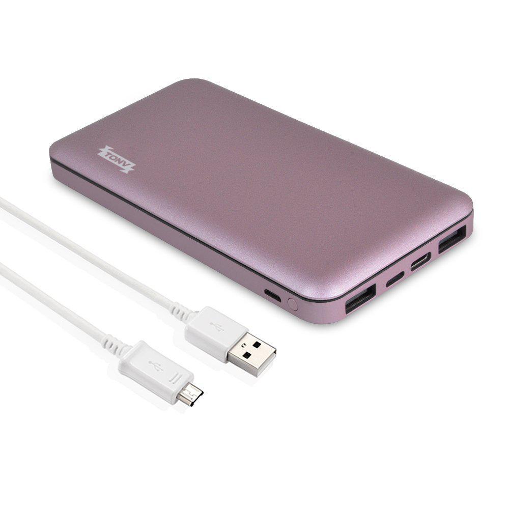 Power Bank Внешний Аккумулятор USB C TONV 10000mAh