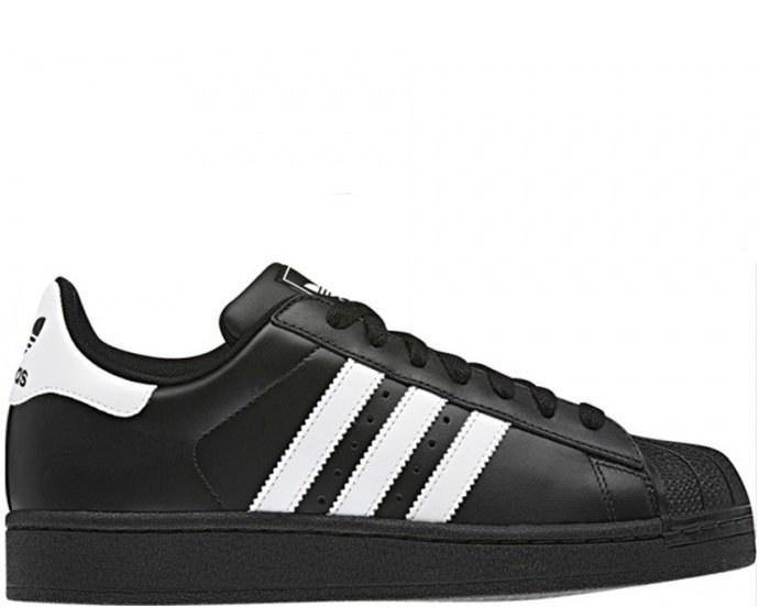 Кроссовки в стиле Adidas Superstar II Black/White