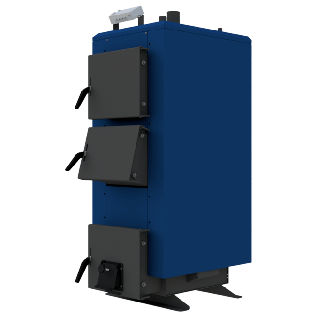 Твердотопливный котел длительного горения НЕУС-КТА 23 кВт на дровах и угле