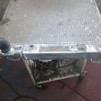 Ремонт радиаторов охлаждения Komatsu