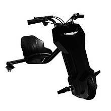 Дрифт-карт Черный блеск скутер элетро для райдеров Windtech Drift Cart 8″Ultimate Edition