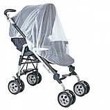 Антимоскитная сетка на коляску, универсальная, фото 4